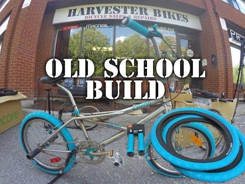 Old School 90's BMX Build with New School Accessories @ Harvester Bikes