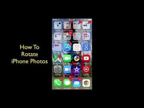 How To Rotate iPhone Photos