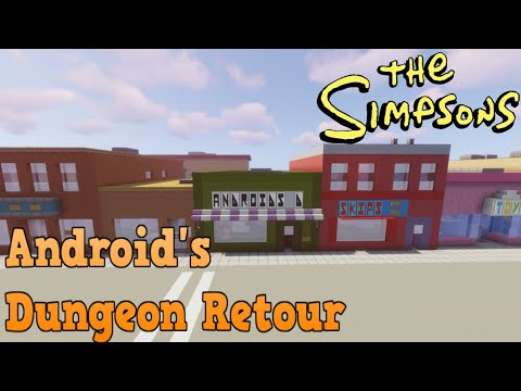 Minecraft Springfield S04: Android's Dungeon Retour!