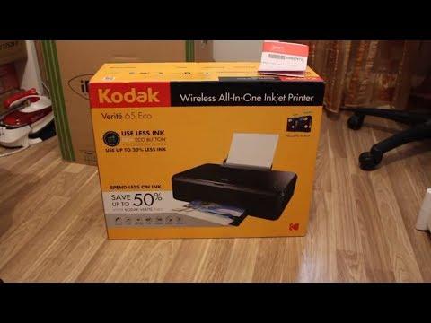 Kodak Verite 65 ECO Wireless Inkjet Printer - Unboxing [HD]