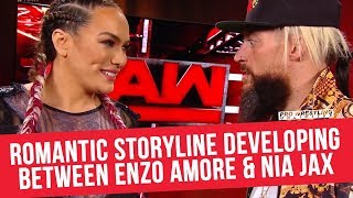 Romantic Storyline Developing Between Enzo Amore & Nia Jax