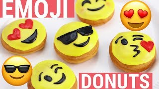 HOW TO MAKE EMOJI DONUTS - NERDY NUMMIES