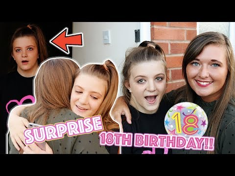 ROAD TRIP TO SURPRISE A FAN ON HER 18th BIRTHDAY!