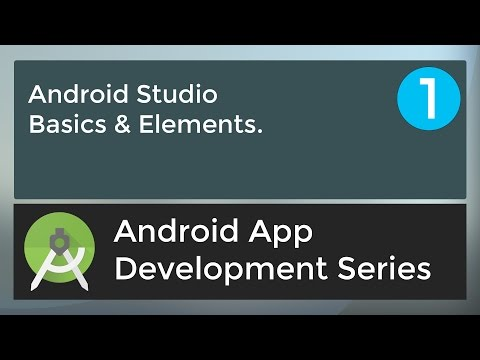 Android Application Development Tutorial for Beginners - #1 | 2017
