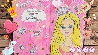 Идеи для личного дневника Мой Скетчбук Как начать Diy своими руками ЛД Артбук Sketchbook Смешбук