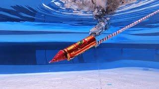 Rocket Underwater | पानी के अंदर राकेट