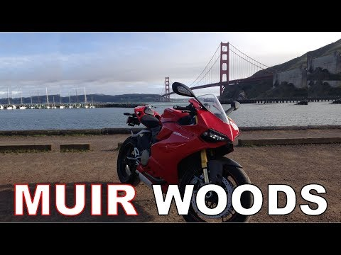 Tony Bennett on a Ducati to Muir Woods