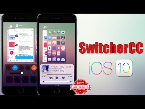 SwitcherCC Tweak Combines the App Switcher and Control Center interfaces