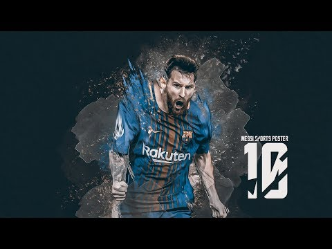 Create Sports Poster Design  in Photoshop CC