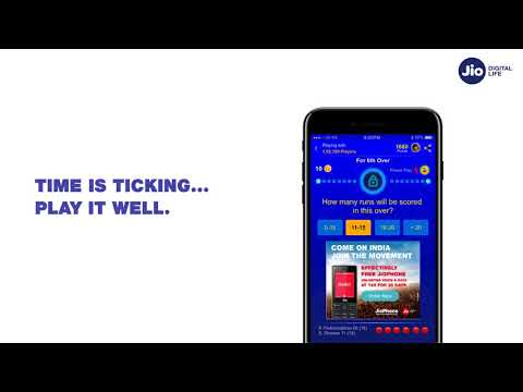 Jio Cricket Play Along - How To Play