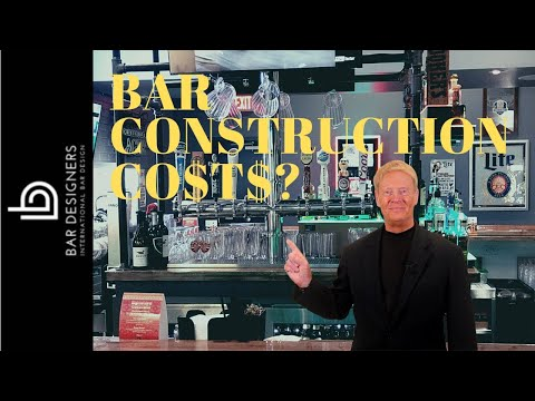 How Much Does it Cost to Build Your Own Do It Yourself Bar?