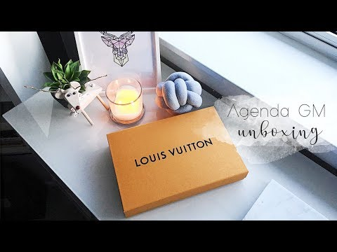 Louis Vuitton Agenda GM Unboxing