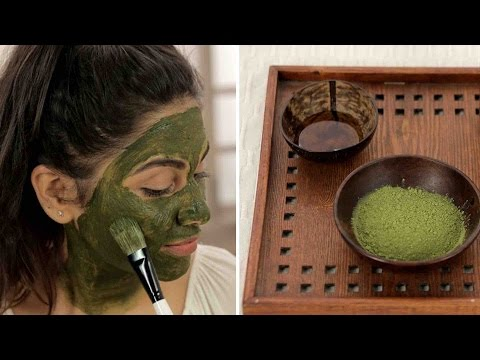 DIY Matcha Green Tea Face Mask For Youthful Healthy Skin | Japanese Beauty Secrets