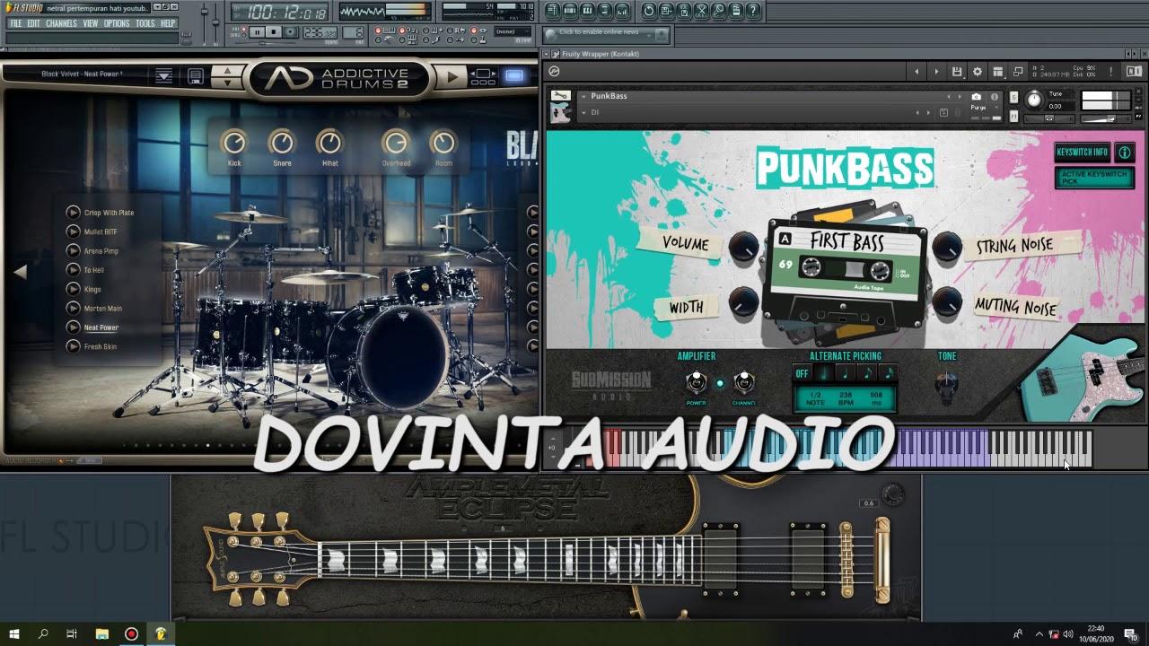 Download NETRAL NTRL   PERTEMPURAN HATI COVER INSTRUMENT FL STUDIO MP3 Gratis