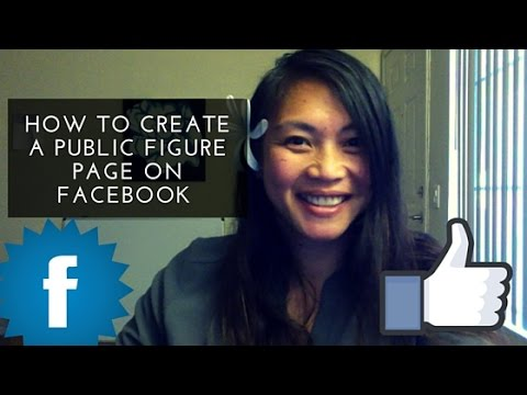 How to Create a Public Figure Page on Facebook | Stacia Kennedy