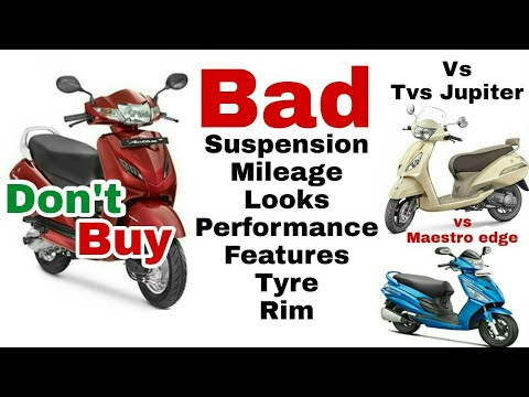 Why don't buy Honda Activa, Jupiter & Maestro Pros and Cons, Honest Opinion, Honda Activa 4G reviews