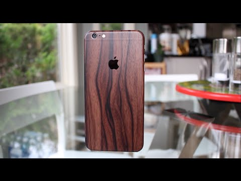 Slickwraps iPhone 6 Plus Skin Unboxing & Review!