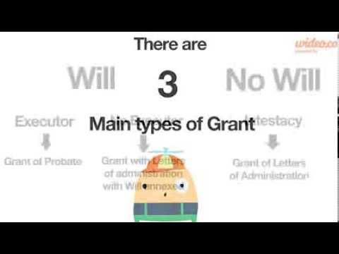 What is a Grant of Probate? - by Wideo.co