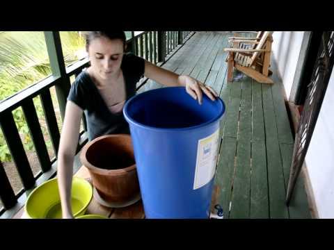 How to Clean Ceramic Water Filters (Como a limpiar el filtro del barro de agua)
