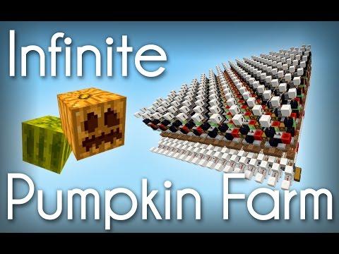 Minecraft | Tileable Full-Auto Melon/Pumpkin Farm! [Showcase]