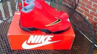 d1be591d9f89 Nike Air Zoom Flight The Glove  Miami Heat  + on feet