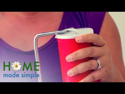 Life Hack: Preserve Paint Rollers | Home Made Simple | Oprah Winfrey Network