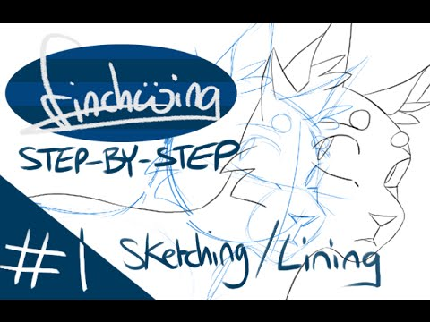 Animation in Photoshop Step-by-Step: #1 Setup, Sketching and Lining