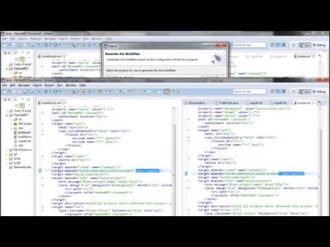 How to Build an XML file from Eclipse.