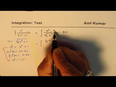 Integration Test Radical Roots by Rationalizing Substitution