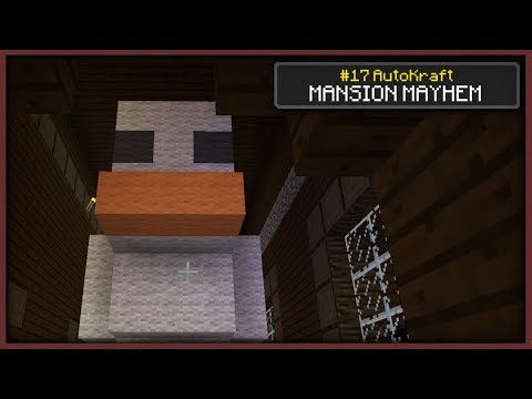 Minecraft - MISSING MANSION MAYHEM ! [ AutoKraft Lets Play #17 ] Console / MCPE / Bedrock
