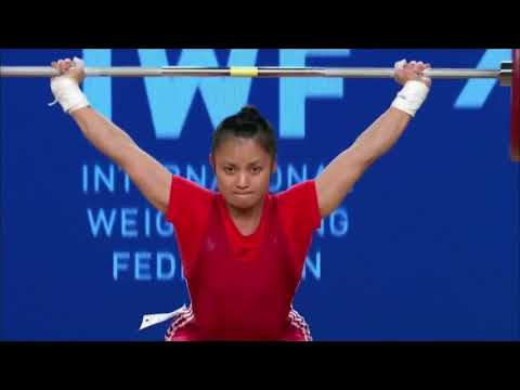 Women's 48 kg A Session Snatch - 2017 IWF Weightlifting World Championships (WWC)
