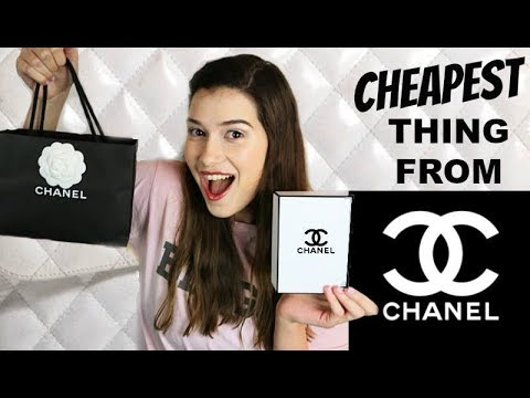 I Buy The Cheapest Thing On Chanel!