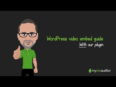 How to use MySiteAuditor's WordPress Plugin