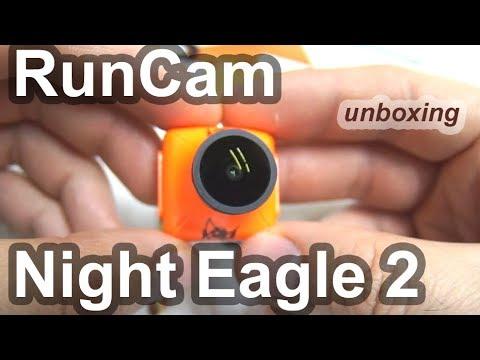 RunCam Night Eagle 2 - Unboxing (Night Vision Camera)