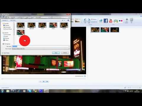 How to save Windows Movie Maker file into WMV file for Windows 7