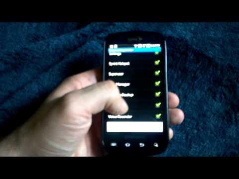 Epic 4G Hide Unhide Apps