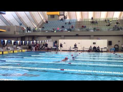 Calgary Masters Swim Meet 2015 Lisa Brown 100 IM