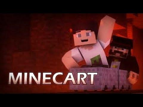Minecart (Minecraft Animation)
