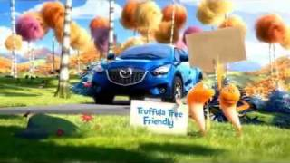The New Gas Saving, 35MPG 2013 Mazda CX-5 SUV Stars in A Dr Suess -The Lorax Commercial
