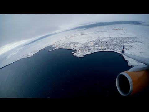 Timelapse Flight from Iceland to London (Gopro Hero4)