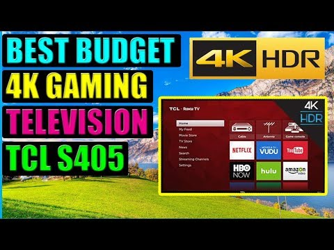 Is This The Best Budget Gaming TV? TCL S405 4K HDR Smart TV