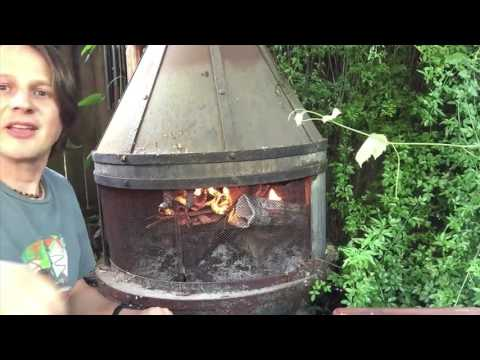 How to build a fire in a fireplace