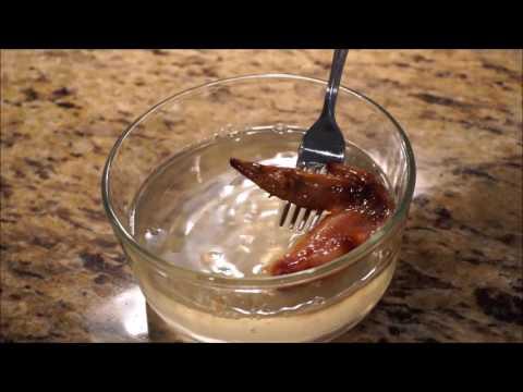 Potassium Hydroxide Dissolves Chicken To The Bone