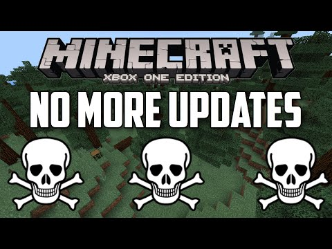 Minecraft Xbox One is Dead! No More Updates!