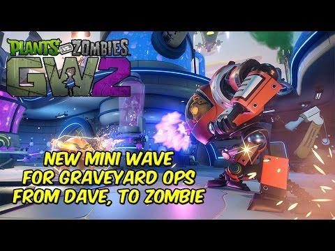 Plants Vs Zombies Garden Warfare 2 New Mini Wave Graveyard Ops