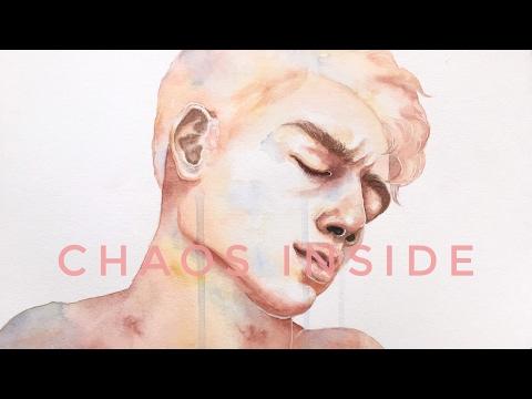 chaos inside - watercolor portrait