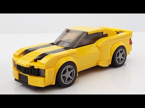 Lego Bumblebee Camaro from Transformers MOC