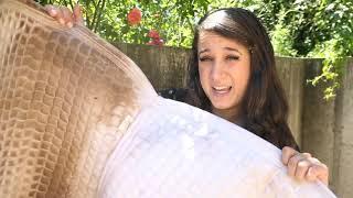 Letztes Video vor meinem Reitunfall...  Schabracken mit Hochdruckreiniger waschen