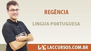 Aula 21/38 - Regência - Língua Portuguesa - Sidney Martins