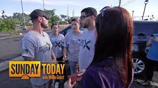 Meet The Veteran Still Helping Puerto Rico 4 Months After Hurricane Maria | Sunday TODAY